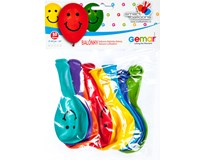 Balónek nafukovací 26cm barevný mix