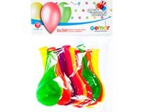 Balónek nafukovací 26cm mix neonových barev 1x10ks