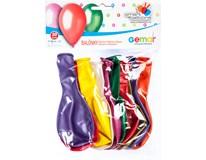 Balónek nafukovací metalické barvy mix 10ks