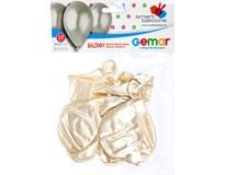 Balónek nafukovací metalická perleťová 30cm 1x10ks