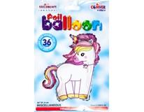 Balónek 91cm Jednorožec fólie 1x1ks