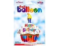 Balónek 46cm cupcake
