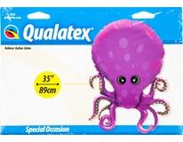 Balónek 89cm Chobotnice fólie 1x1ks