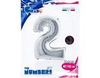 Balónek číslice