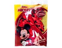 Balónek folie Mickey Mouse 30cm červený 1ks