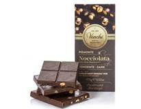 Venchi Čokoláda hořká s lískovými ořechy 1x100g