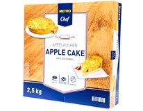 Metro Chef Apple Cake Jablečný koláč krájený mraž. 1x2500g