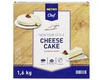 Metro Chef Cheesecake NY Styl krájený mraž. 1x1,6kg