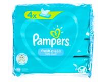 Pampers Fresh Clean dětské vlhčené ubrousky 4x52ks