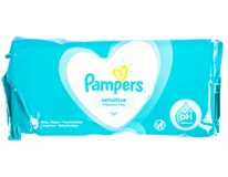 PAMPERS WIPES SENSITIVE 52KS