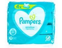 Pampers Sensitive dětské ubrousky vlhčené 4x52ks