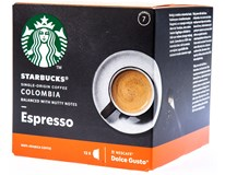 Starbucks Nescafé Dolce Gusto Colombia Espresso kávové kapsle 1x12ks