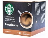 Starbucks Nescafé Dolce Gusto House Blend Americano kávové kapsle 1x12ks