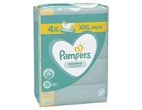 Pampers Sensitive XXL dětské ubrousky vlhčené 4x80ks