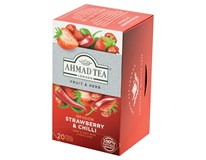 Ahmad Tea Jahoda s chilli ovocný a bylinný čaj 1x36g