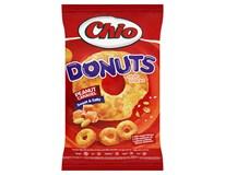 Chio Donuts Kukuřičný snack s arašídy a příchutí karamelu 1x80g