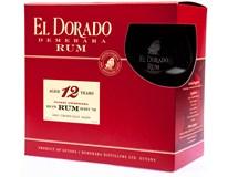 El Dorado rum 12yo 40% 1x700ml + sklo