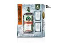Jägermeister Likér 35% 1x700ml + 2 skleničky