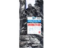 Košilkové tašky černé ARO, HDPE 3kg blok 21x26cm 5x100ks