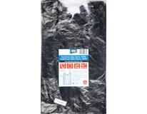 Košilkové tašky černé ARO, HDPE 6kg blok 24x32cm 5x100ks
