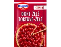 Dr.Oetker Želé dortové červené 36x10g
