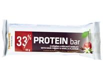 Protein Bar Višeň/vanilka 33% 1x65g