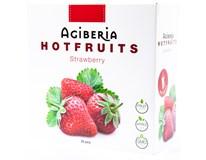 Agiberia Hotfruits Strawberry Nápoj v prášku 25x20g
