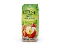 Hello 100% Jablko-mrkev 18x250ml