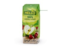 Hello 100% Jablko-višeň 18x250ml