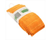 Utěrka Tarrington House mikro 50x70cm oranžová 5ks