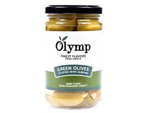 Olymp Olivy zelené s mandlemi 1x314ml