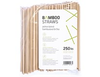 BAMBOO STRAW 6X230MM 250KS