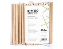 BAMBOO STRAW 8X230MM 200KS