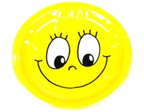 Talíř papírový pr. 23cm Smiley 1x10ks