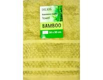 Ručník Bamboo 50x90cm zelený 1ks