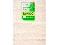 Ručník Bamboo 50x90cm ecru 1ks
