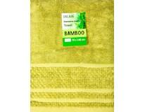 Osuška Bamboo 70x140cm zelená 1ks