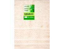 Osuška Bamboo 70x140cm ecru 1ks