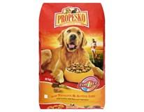 Propesko Granule drůbeží+hovězí+zelenina pro psy 1x10kg
