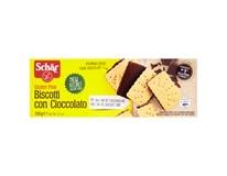 Schär Biscotti con Cioccolato sušenky bez lepku polomáčené v hořké čokoládě 1x150g
