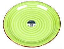 Talíř Louise mělký 27cm zelený 1ks