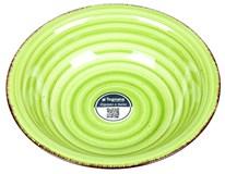 Talíř Louise hluboký 21cm zelený 1ks