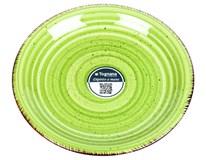 Talíř Louise dezertní 19cm zelený 1ks