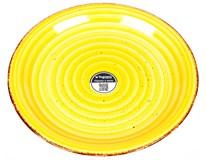 Talíř Louise mělký 27cm žlutý 1ks