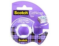 Páska Scotch Gift lepicí čirá 1ks