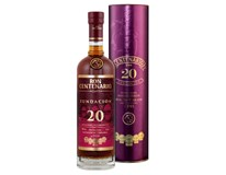 Centenario rum 20yo 40% 6x700ml