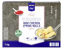 Metro Chef Závitky jarní kuřecí mini mraž. 1x1kg