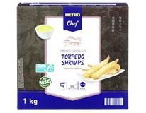 Metro Chef Krevety Torpedo mraž. 1x1kg