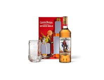 Captain Morgan 35% + korbel 1x700ml