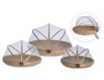 Košík bambusový s poklopem 3dílný set 1ks